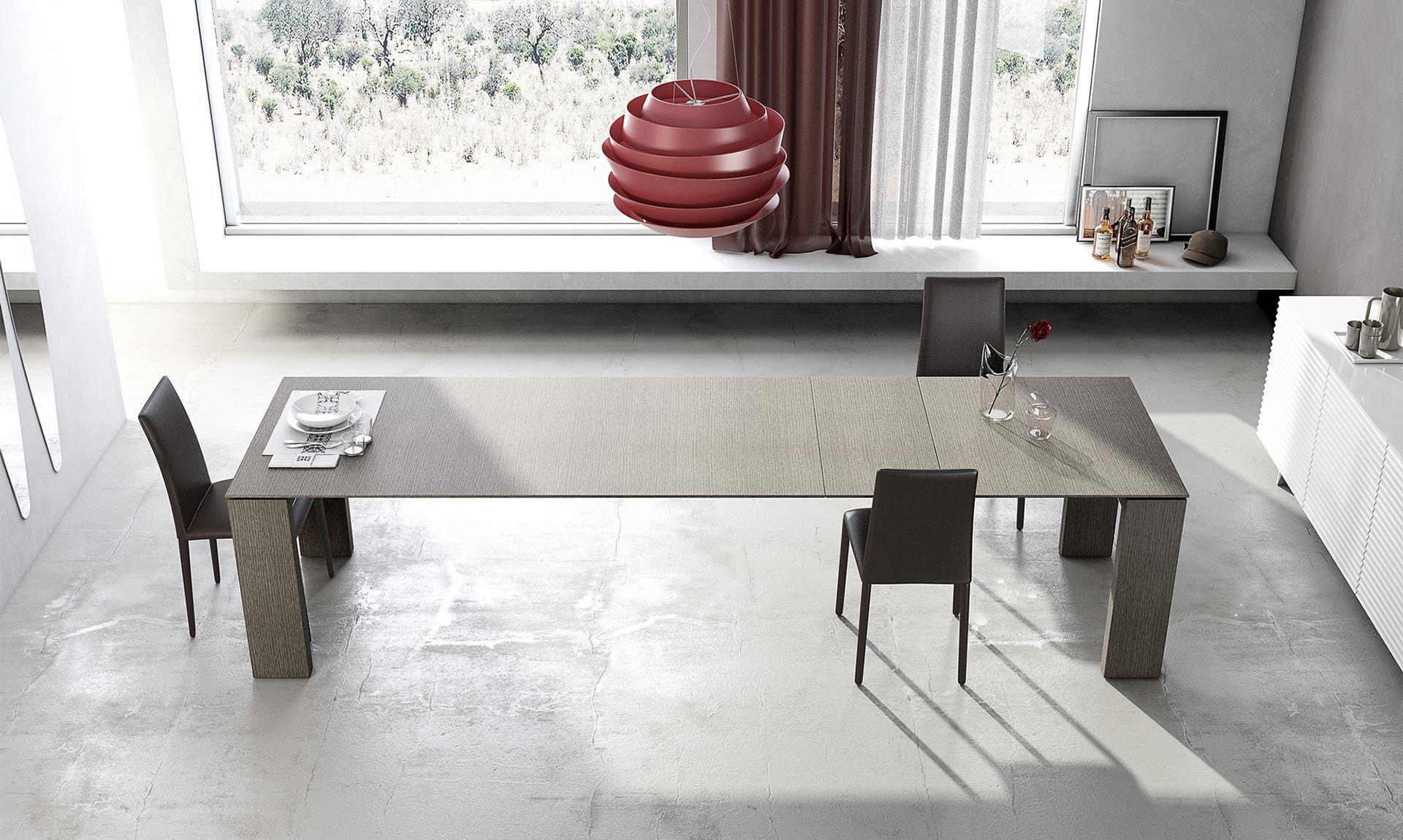Tavoli Moderni In Legno Allungabili