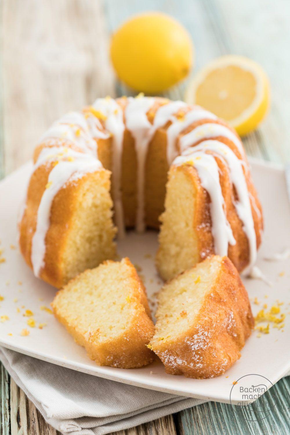 Zitronen Joghurt Gugelhupf Rezept Gugelhupf Backen Rezepte Zitronen Kuchen