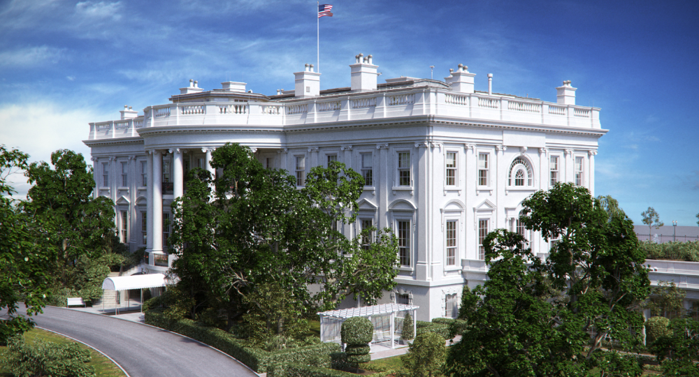 3d Washington Dc White House Model White House Washington Dc White House Washington Dc