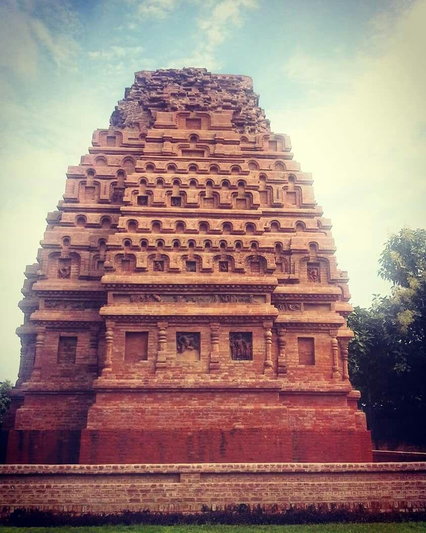 Brick Temple Bhitargaon Kanpur Uttar Pradesh India Circa 4th