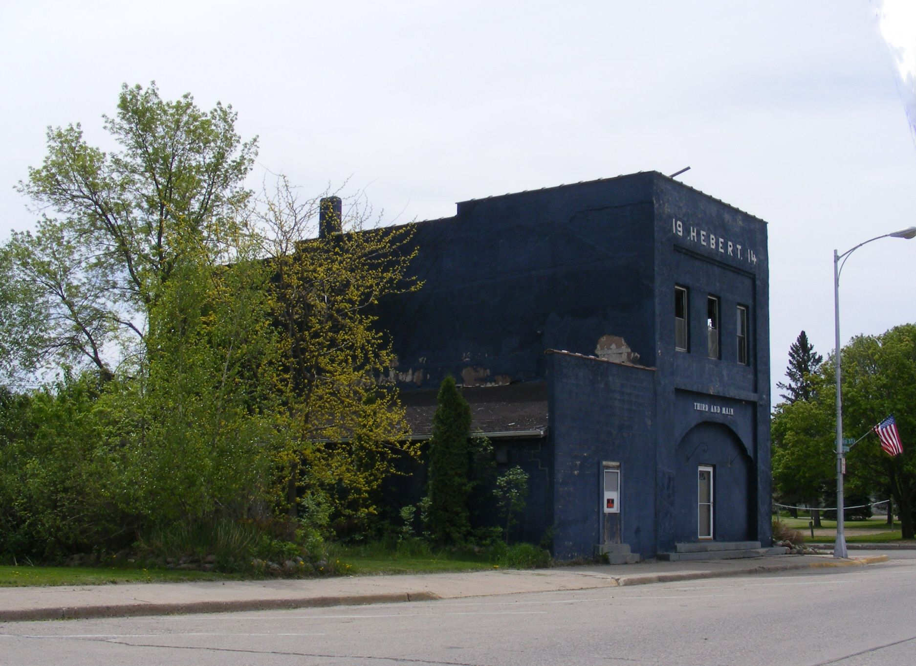 Bricelyn MN Street scene Bricelyn Minnesota 2014