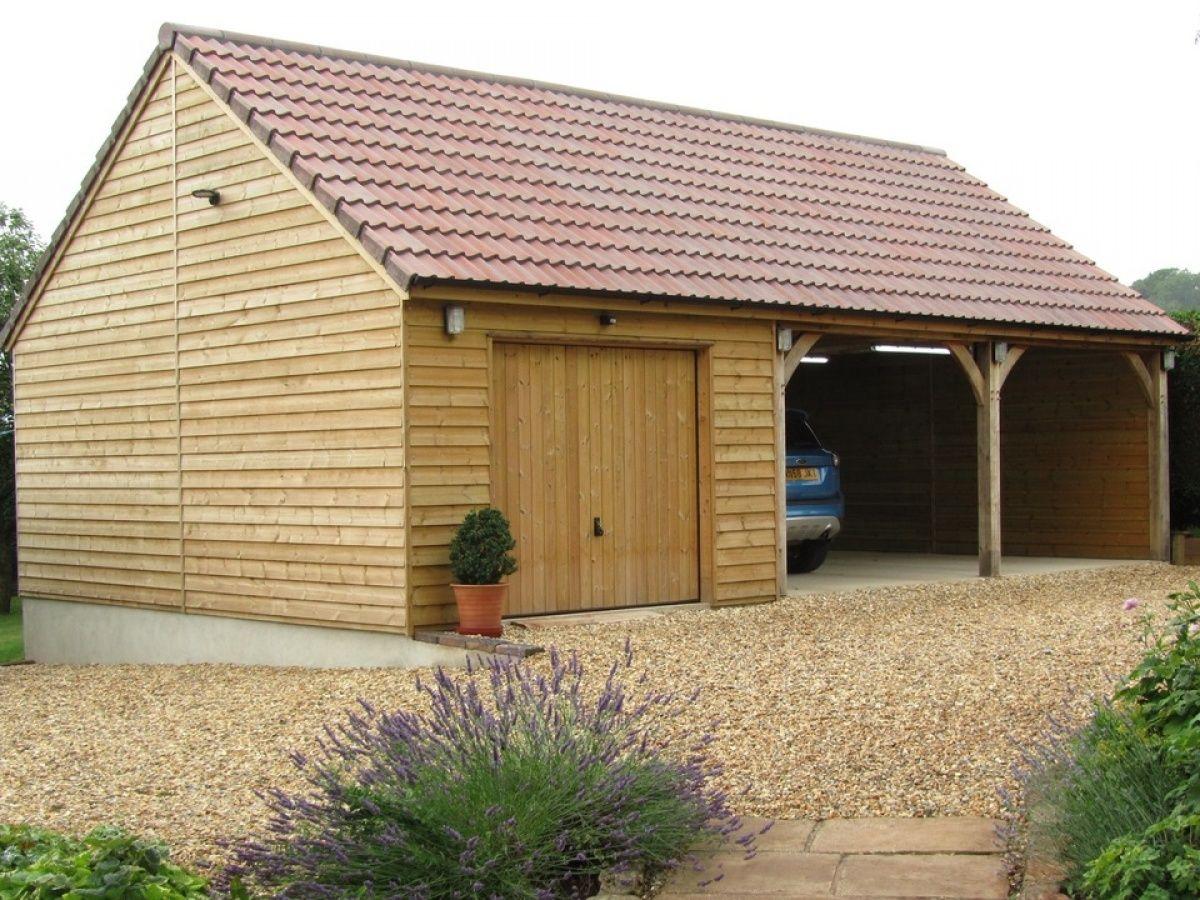 Timber Carriage Houses Timber garage, Carport sheds