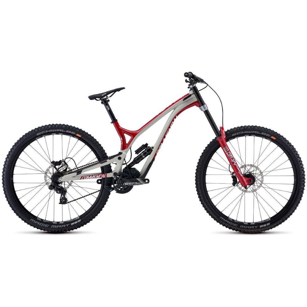 Commencal Supreme DH 29 Team Suspension Bike (2020) X