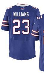 buy popular b1f79 75cb4 $78.00--Aaron Williams Jersey - Elite Blue Home Nike ...