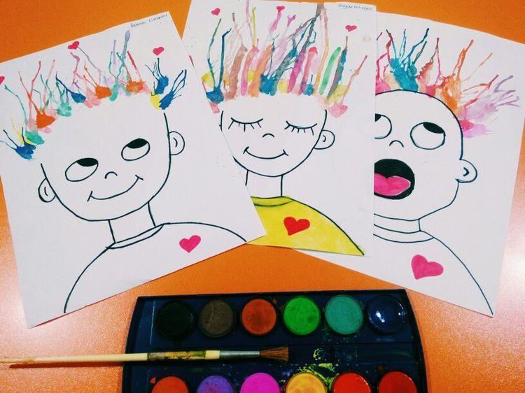 Pin von Melinda auf Circles | Pinterest | Malen mit kindern, Sommer ...