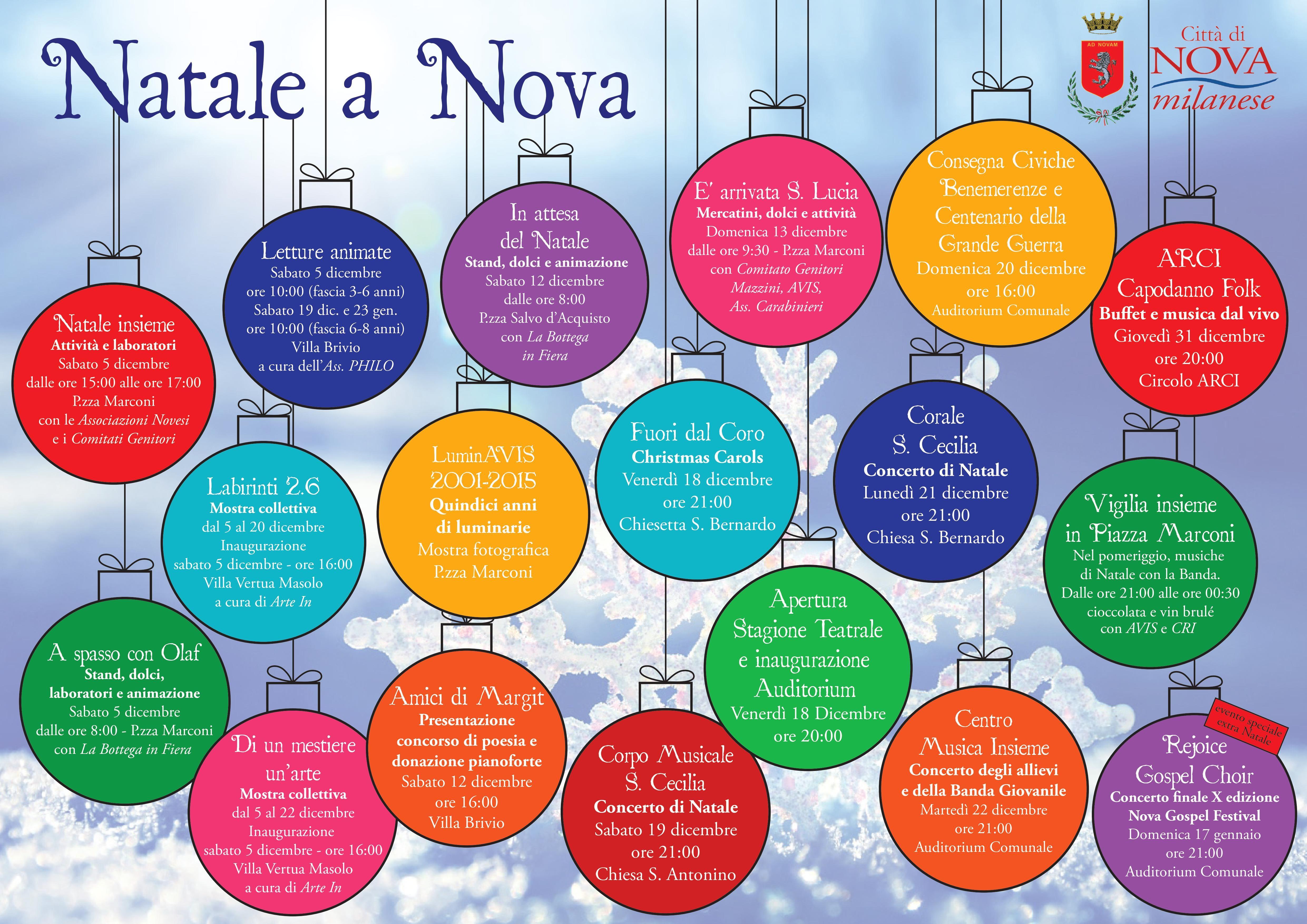 Natale a Nova 2015