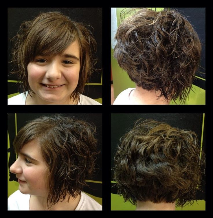 Best 25 Curly Stacked Bobs Ideas On Pinterest Short Bob