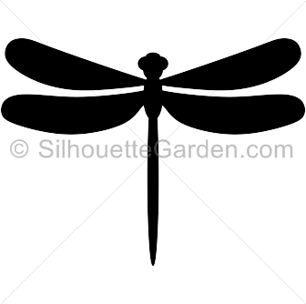 picture relating to Dragonfly Template Printable known as Pin through Muse Printables upon Silhouette Clip Artwork at