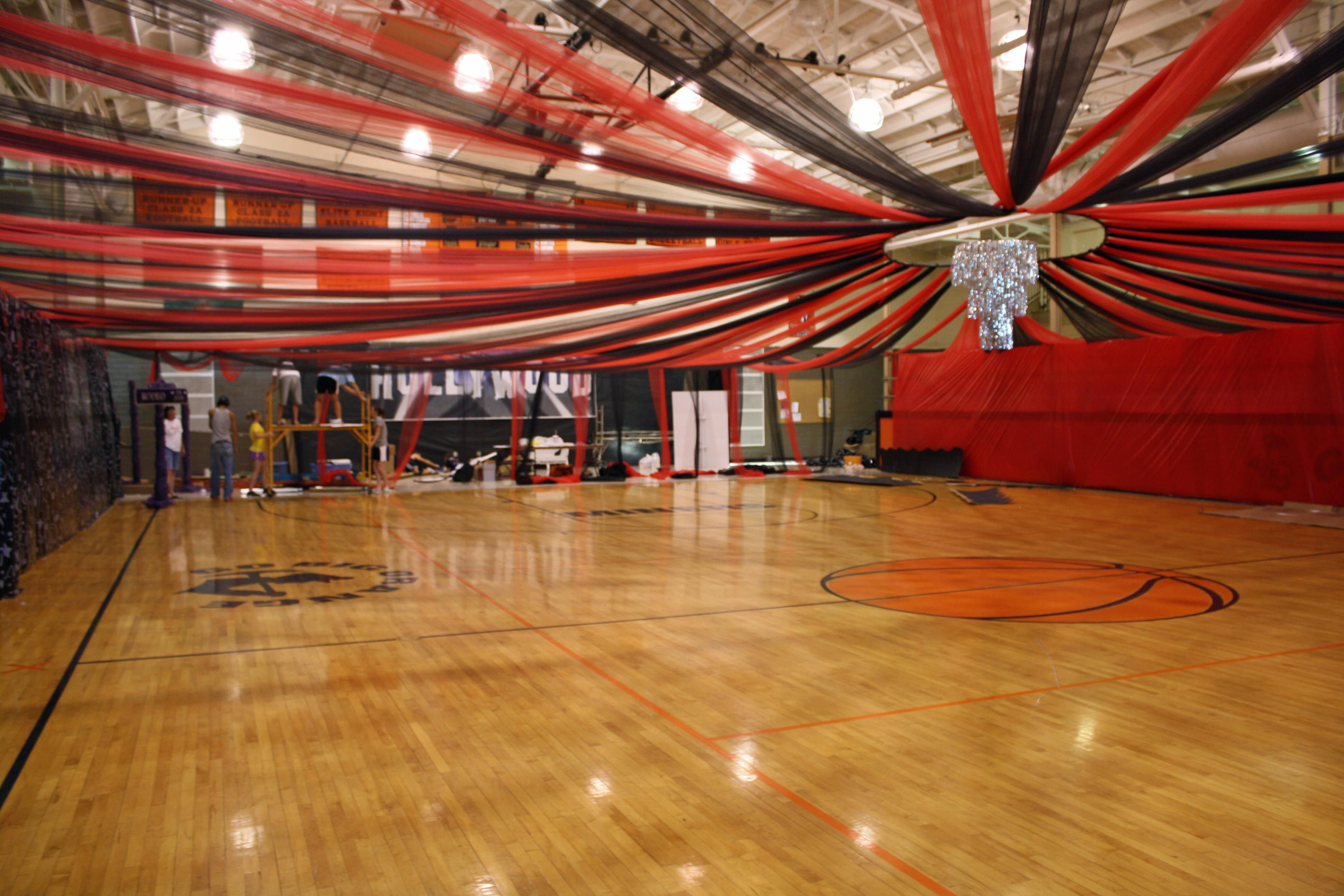 Decorating A Gym For Prom Google Search Ideas