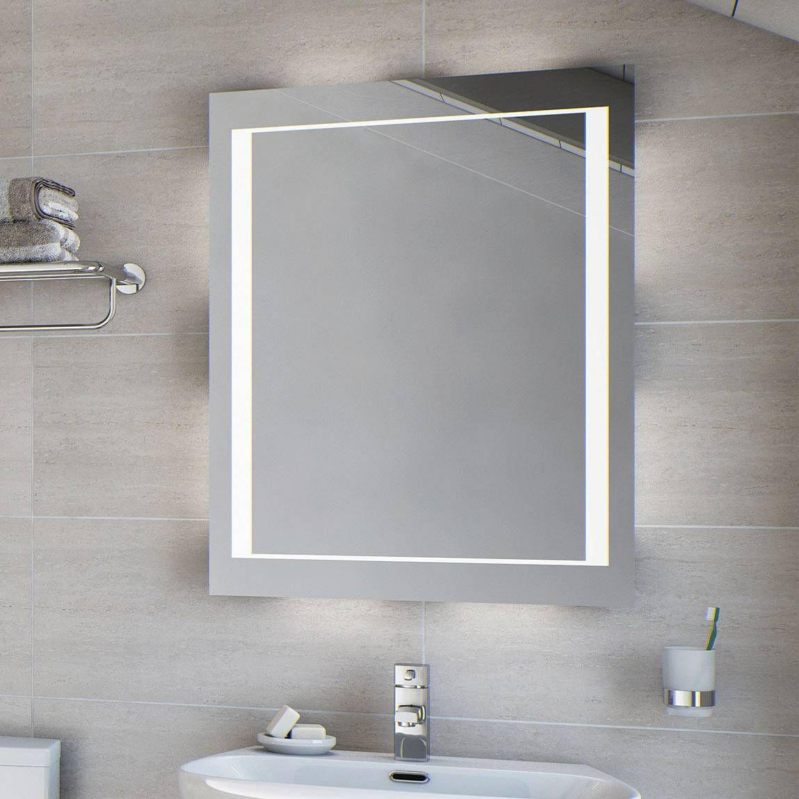 Cygnus Fluorescent Illuminated Mirror Now 89 99 Bathroom Mirror Mirror Led Mirror Bathroom