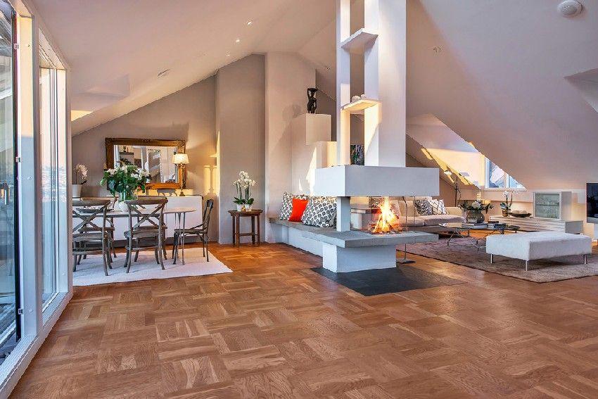 Frische skandinavische Dachwohnung mit zwei sonnigen Terrassen | Die ...