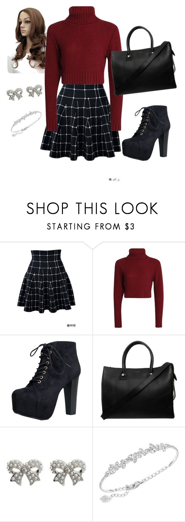 """Untitled #54"" by cmajor02 ❤ liked on Polyvore featuring Speed Limit 98, Paul & Joe, M&Co and Swarovski"