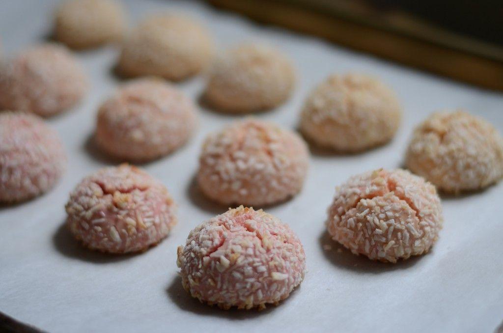 Gluten free rosewater cardamom rice cookies