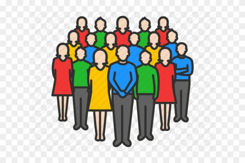 Google Image Result For Https Www Clipartmax Com Png Middle 473 4736964 Crowd Clipart Person Icon Crowd People Icon Png Png