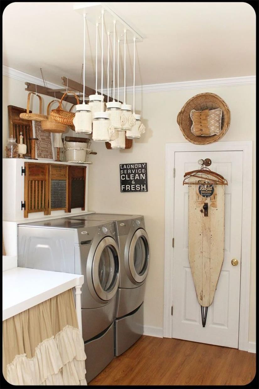 9 Perfect Laundry Room Accessories Decorations Ideas  Vintage