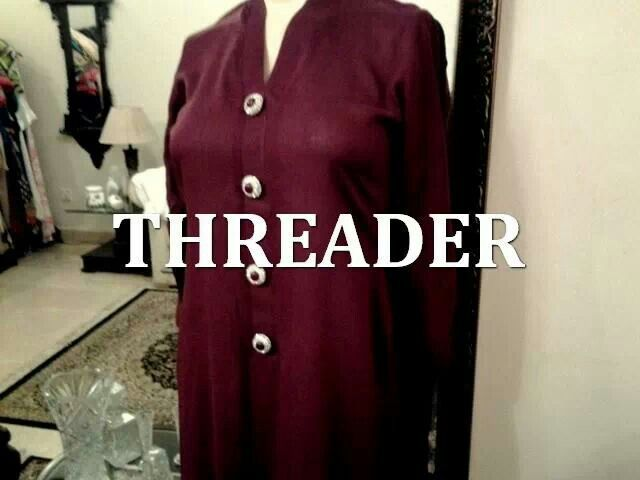 Product ID: 761 in Maroon To order email us at: Email: threaderpk@gmail.com Phone: 00923472076667