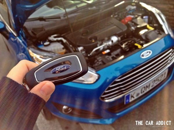 The Car Addict Com Mykey Inside The Ford Fiesta  The Car Addict Autoblog