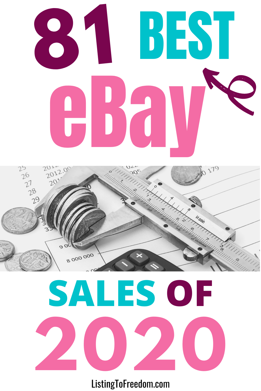 81 Best Ebay Sales In 2020 Ebay Selling On Ebay Sale