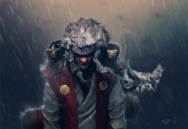 28 Wallpaper Anime Realistic Sage Mode Jiraiya From Naruto Shippuden Illustration Download Wallpaper Naru In 2020 Digital Art Anime Hd Anime Wallpapers Naruto Art