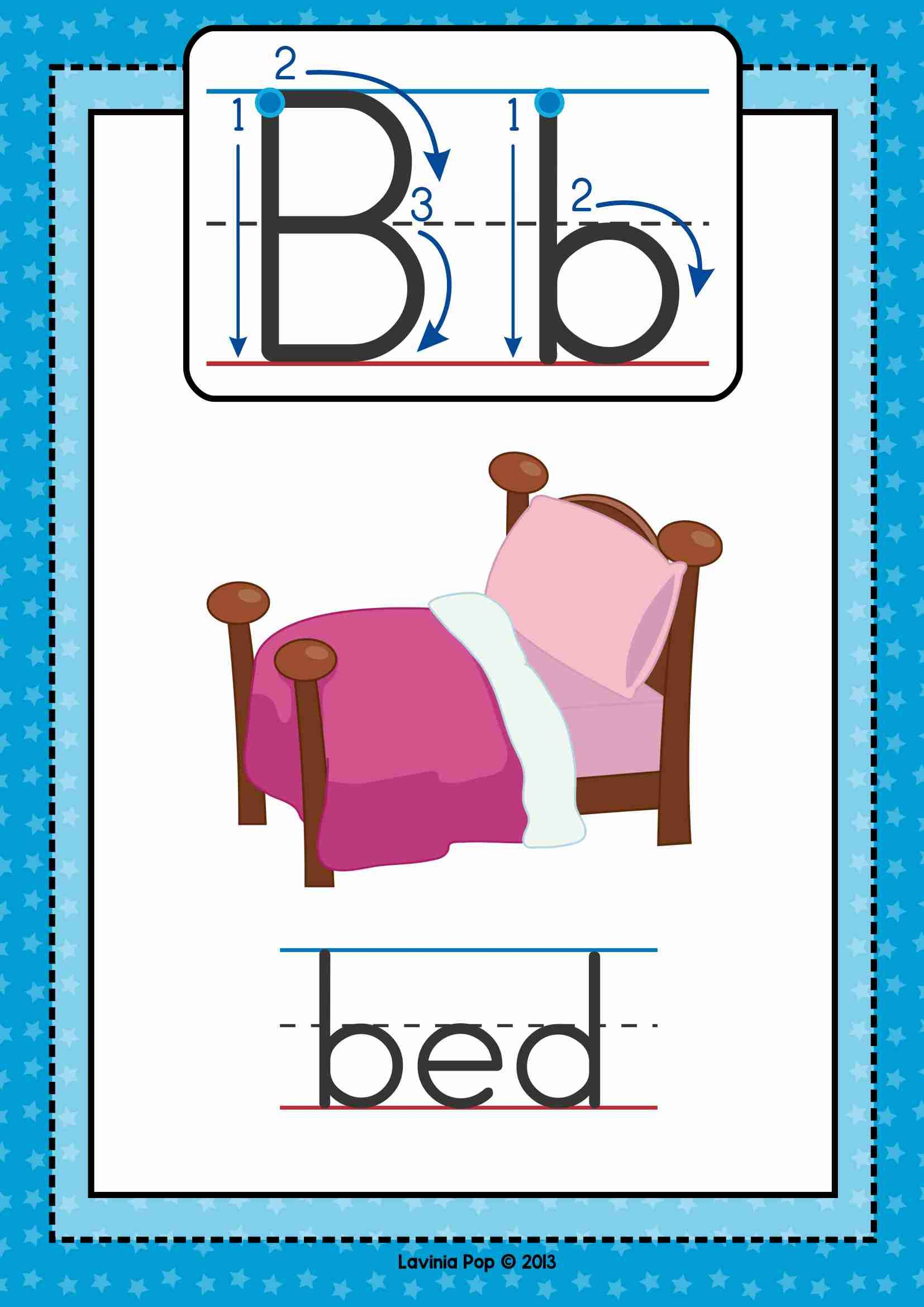 Free Phonics Letter Of The Week B Cvc Poster  My Tpt Products