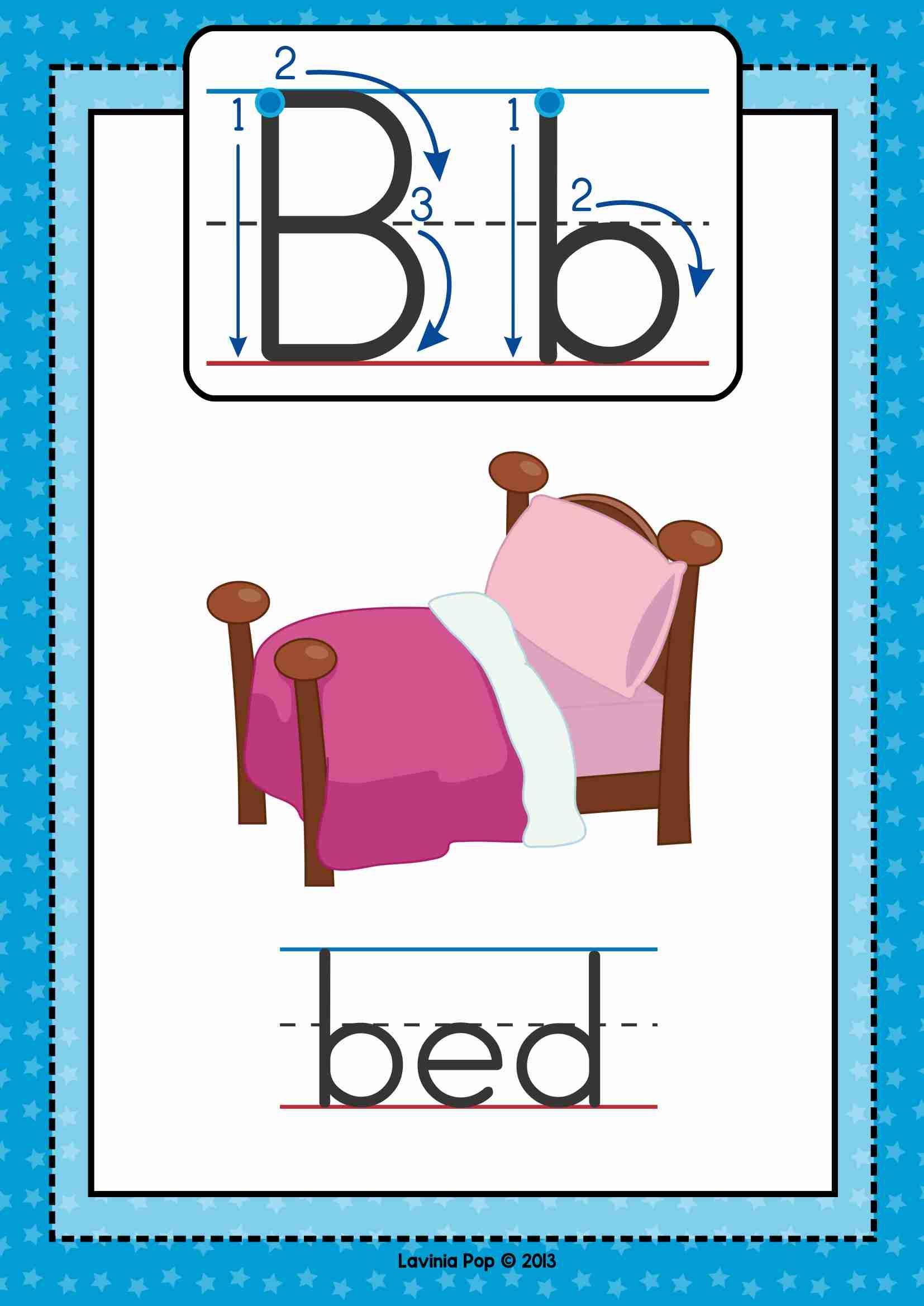 Alphabet Phonics Letter of the Week B | Letter of the Week | Pinterest