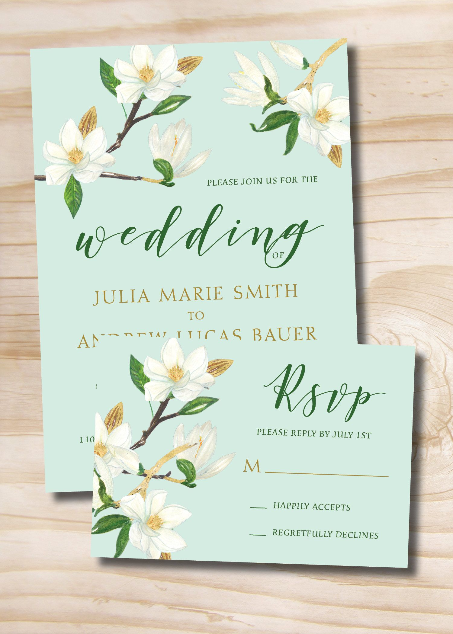 Gold glitter and white floral turquoise wedding invitation and gold glitter and white floral turquoise wedding invitation and response card invitation suite stopboris Choice Image