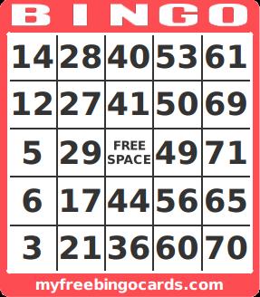 photograph regarding Printable Number Bingo Cards identify totally free printable range bingo card generator Family members Reunion
