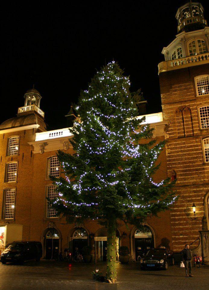 Goes Winterstad, De versierde kerstboom op de markt van Goes
