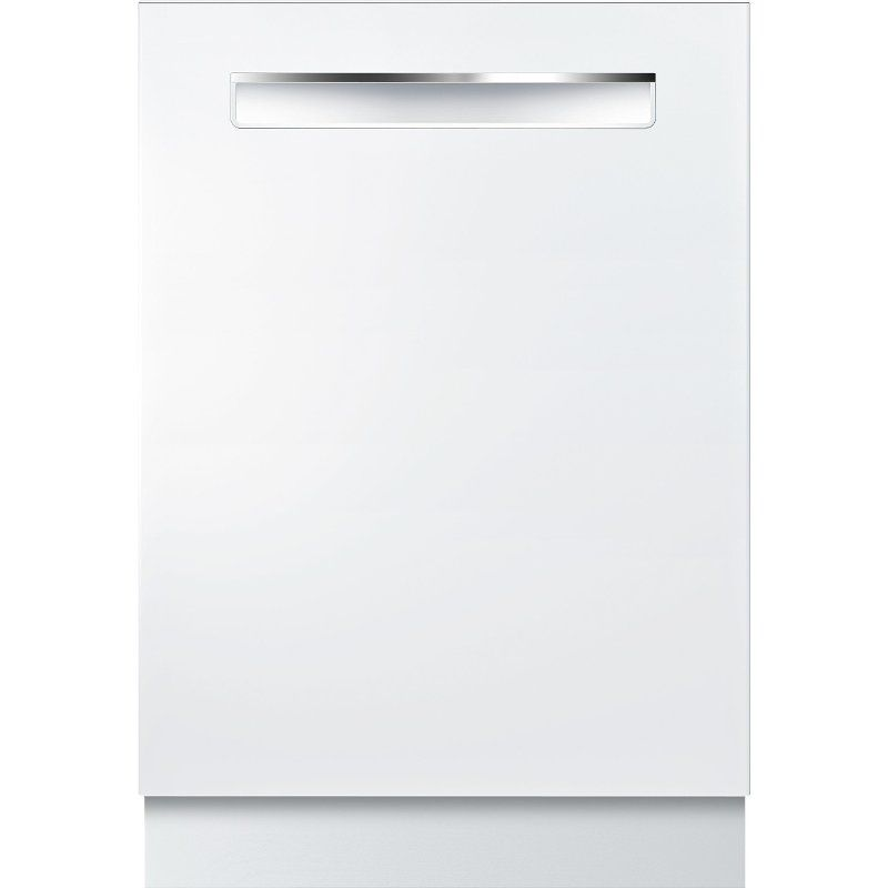 Bosch 800 Series Dishwasher With Crystaldry White Built In