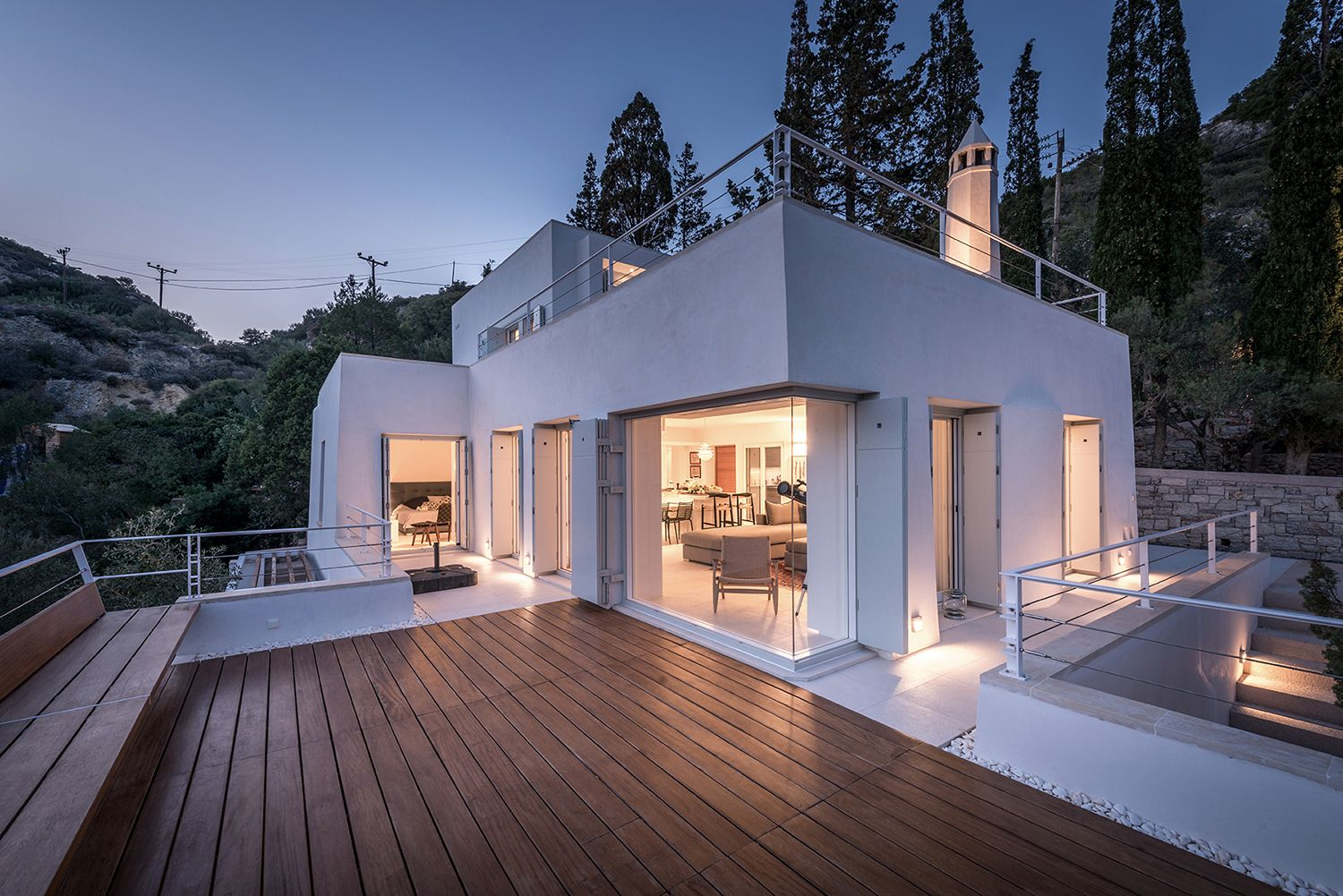 """Check out this @Behance project: """"Cypress Creek House, Kythira by R.C. Tech Architects"""" https://www.behance.net/gallery/44182679/Cypress-Creek-House-Kythira-by-RC-Tech-Architects"""