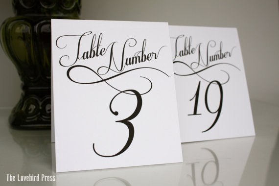 Groovy Printable Wedding Table Numbers Tent Fold Numbers 1 10 The Download Free Architecture Designs Rallybritishbridgeorg