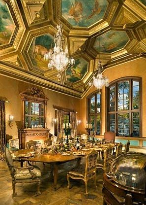 Lake Tahoe Dining Room Set New Tranquility' Dining Room With Spectacular Vaulted Ceiling With Design Decoration