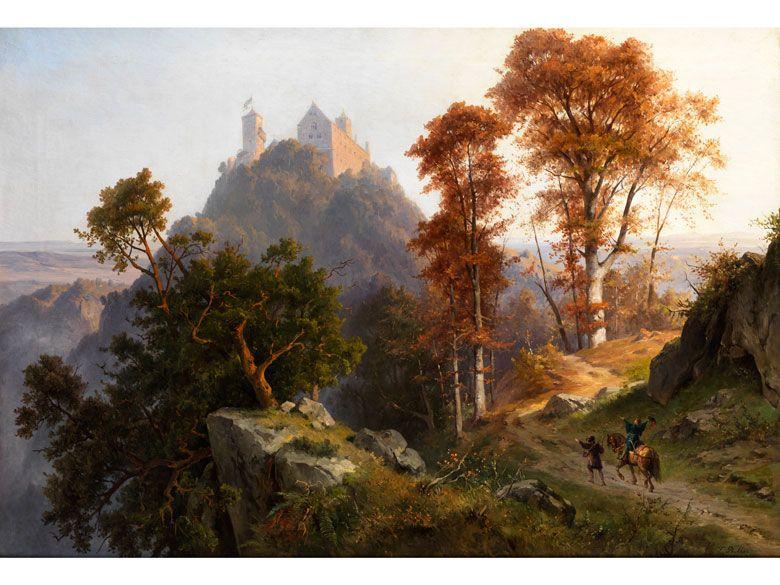 Friedrich Preller D J 1838 Weimar 1901 Blasewitz Dresden In 2020 Landschaftsgemalde Aus Ol Landschaftsmalerei Und Der Maler