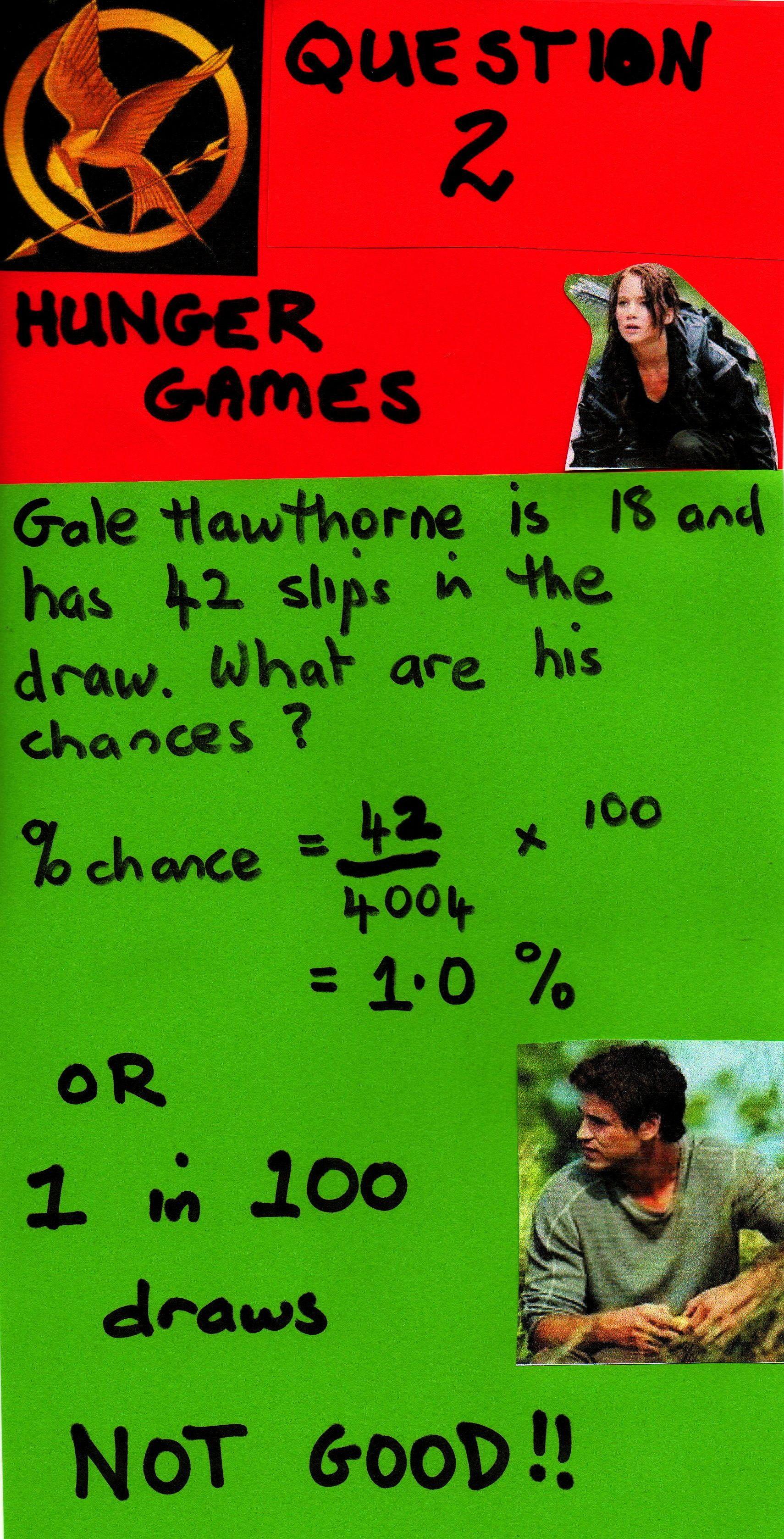 The Hunger Games Maths