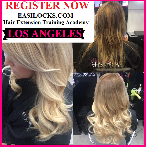 Easilocks Los Angeles Hair Extensions Training Academy