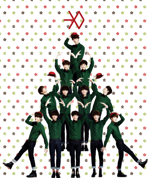 Have yourself an EXO little Christmas!