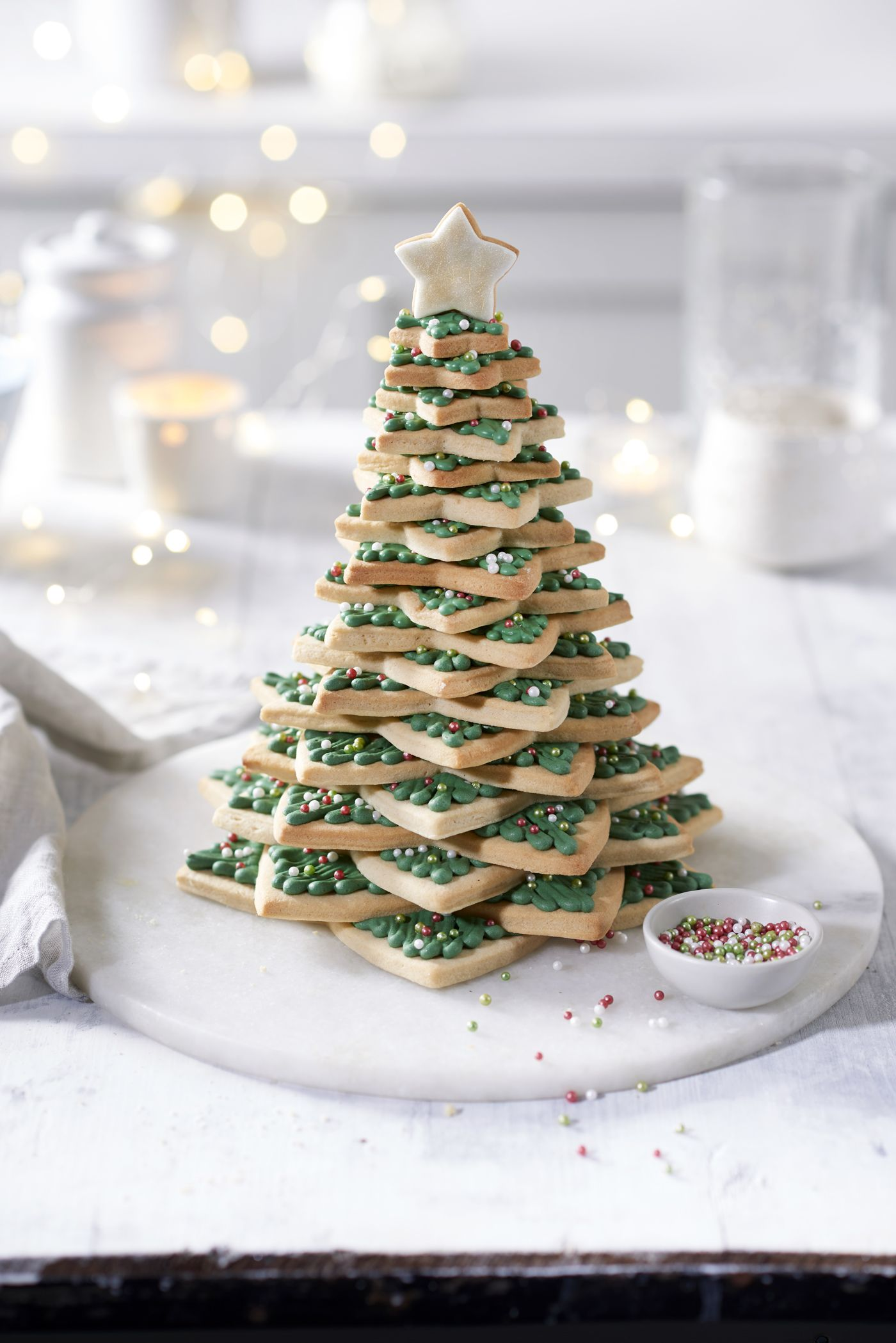 Christmas Cookie Tree Recipe We Wish All Christmas Trees Were Made