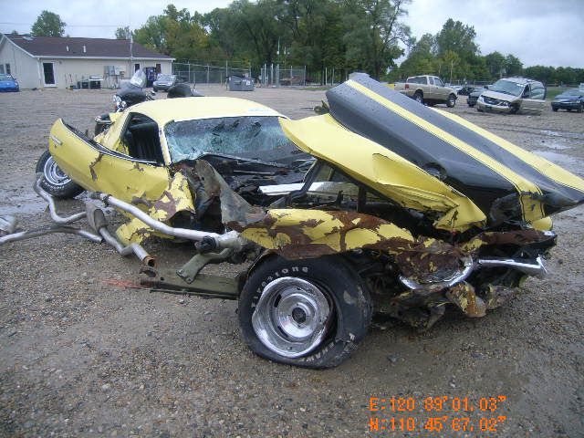 Wrecked Muscle Cars Page 41 Yellow Bullet Forums Car Crash