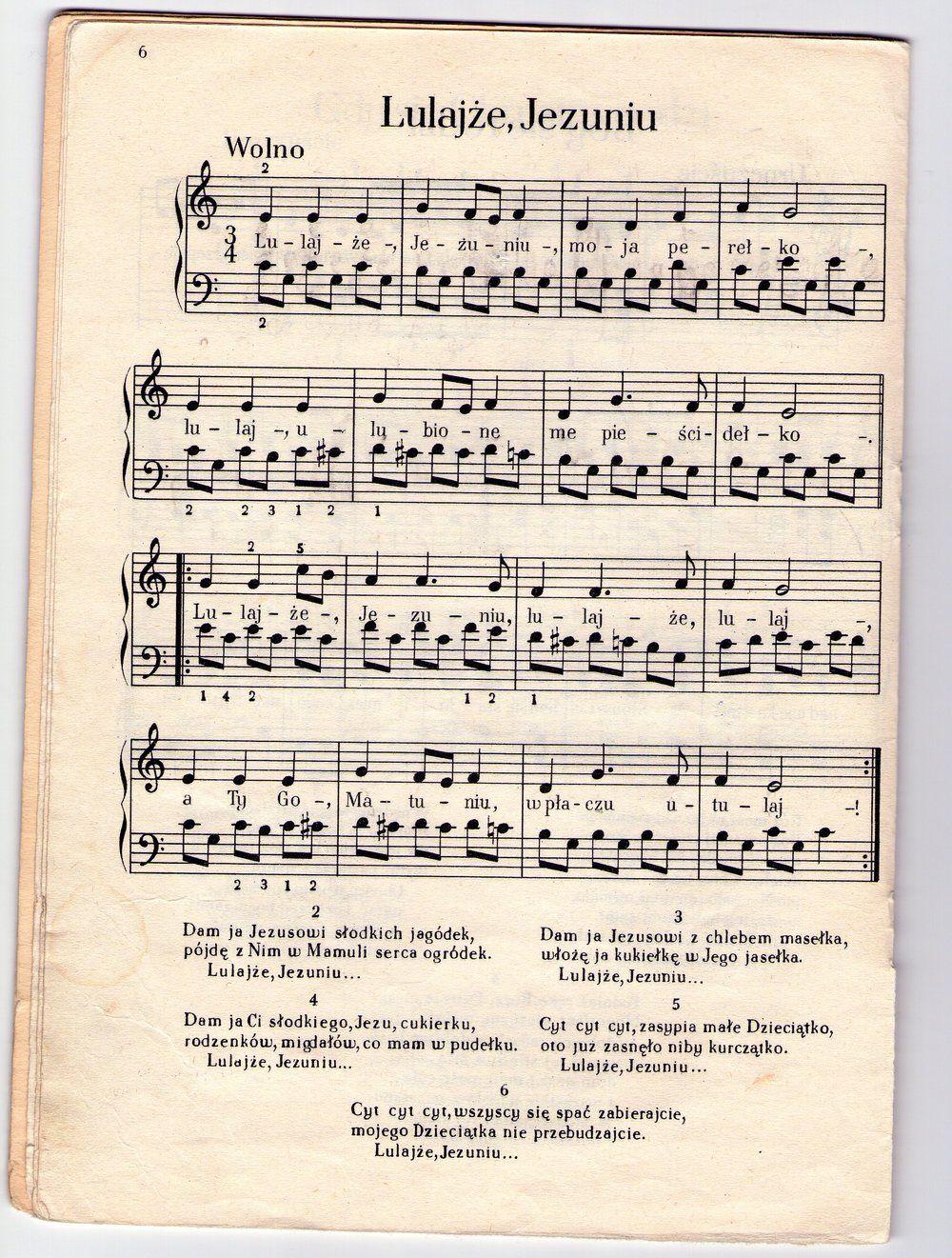 Lulajze Jezuniu Jak Zagrac Na Pianinie Bez Znajomosci Nut In 2020 Pianina Nuty Pasja