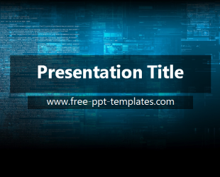 Technology powerpoint template is a blue template which you can use technology powerpoint template is a blue template which you can use to make an elegant and toneelgroepblik