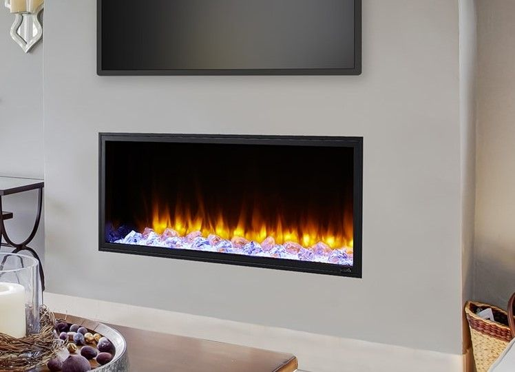 Majestic Simplifire Sf Sc43 Bk 43 Scion Linear Electric Fireplace Electric Fireplace Fireplace Linear Fireplace