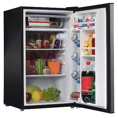 Whirlpool 3 5 Cu Ft Mini Refrigerator Stainless Steel Compact Refrigerator Mini Fridge Single Doors