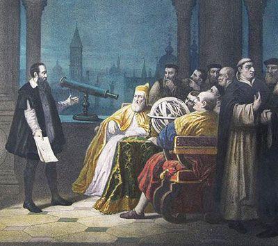 scinexx | Galileo Galilei führt Leonardo Donato sein Teleskop vor ...