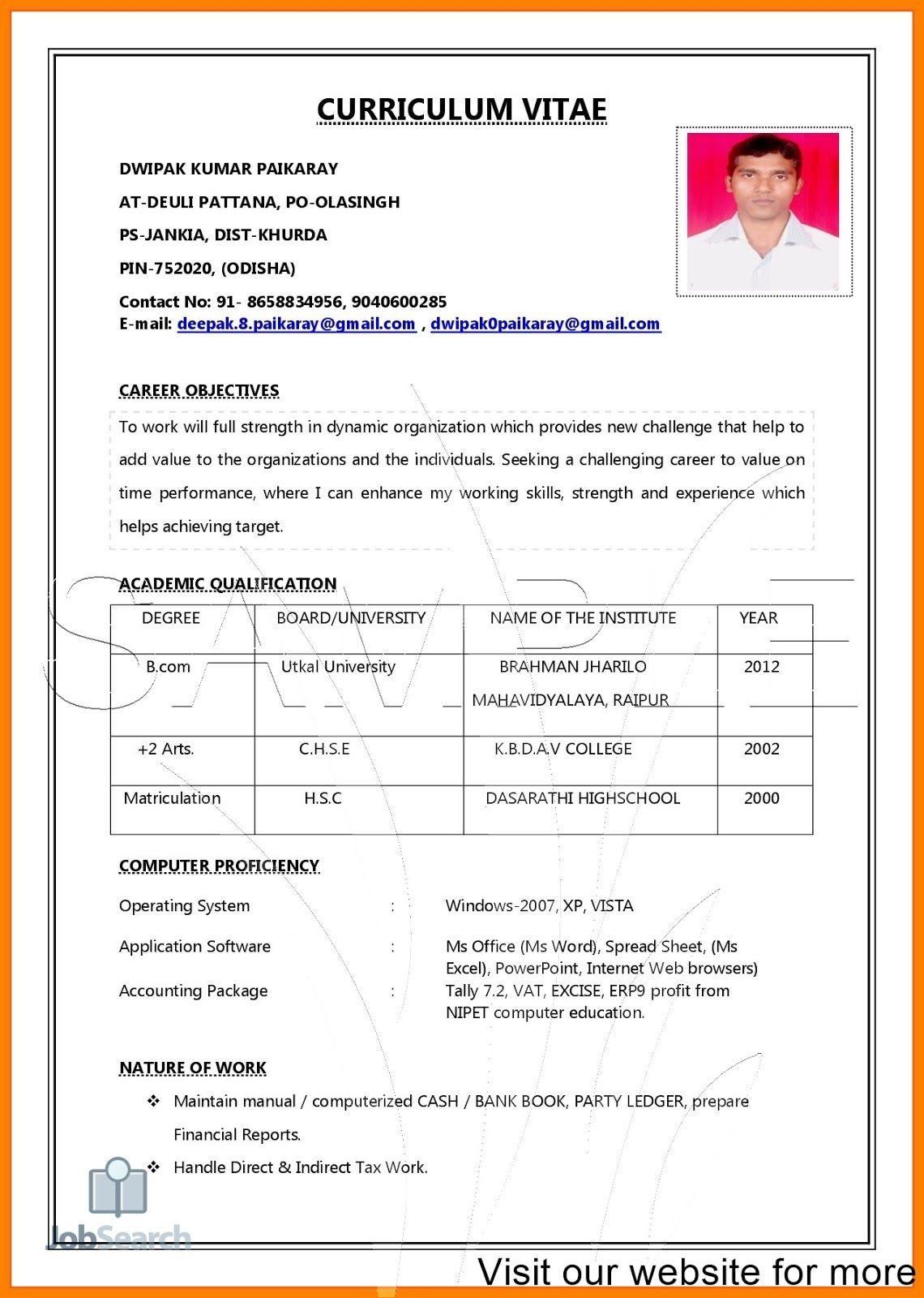 Upload My Resume On Indeed