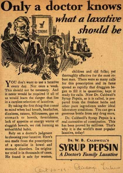 Medicine Ads of the 1920s (Page 3)