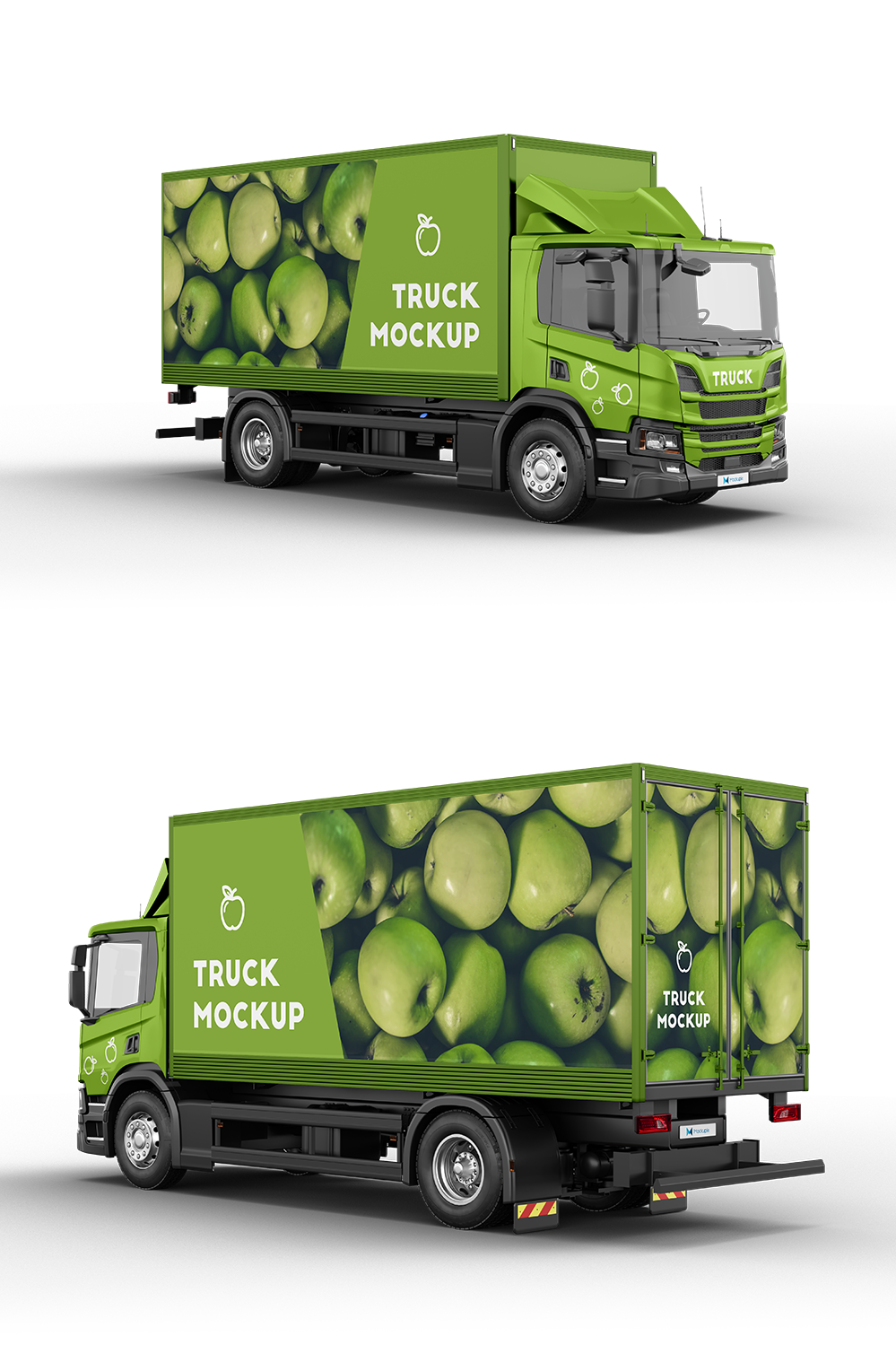 Download Truck Mockup 3 in 2020 | Truck design, Trucks, Mockup