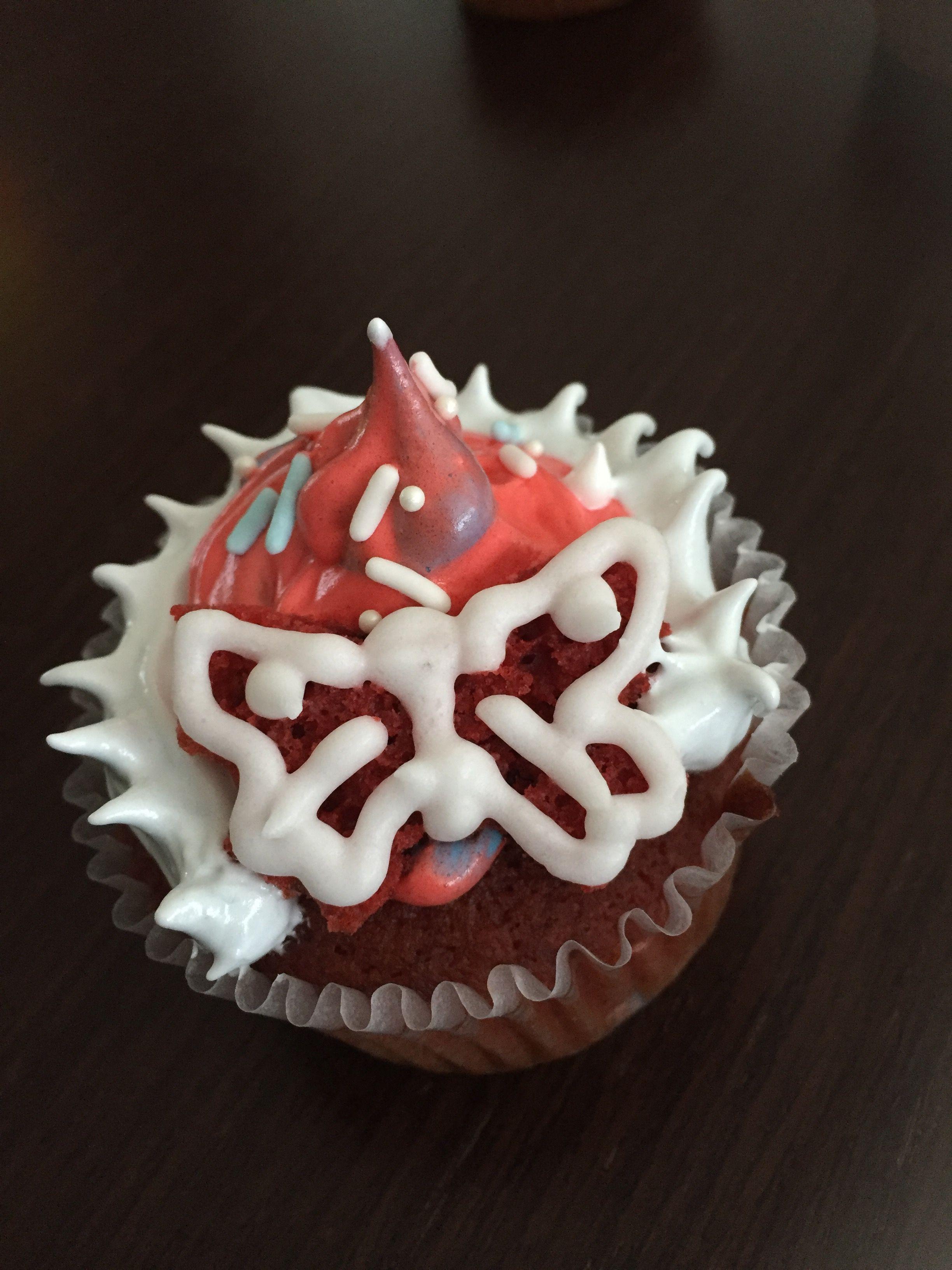 New Year 2017 cupcake - model 2