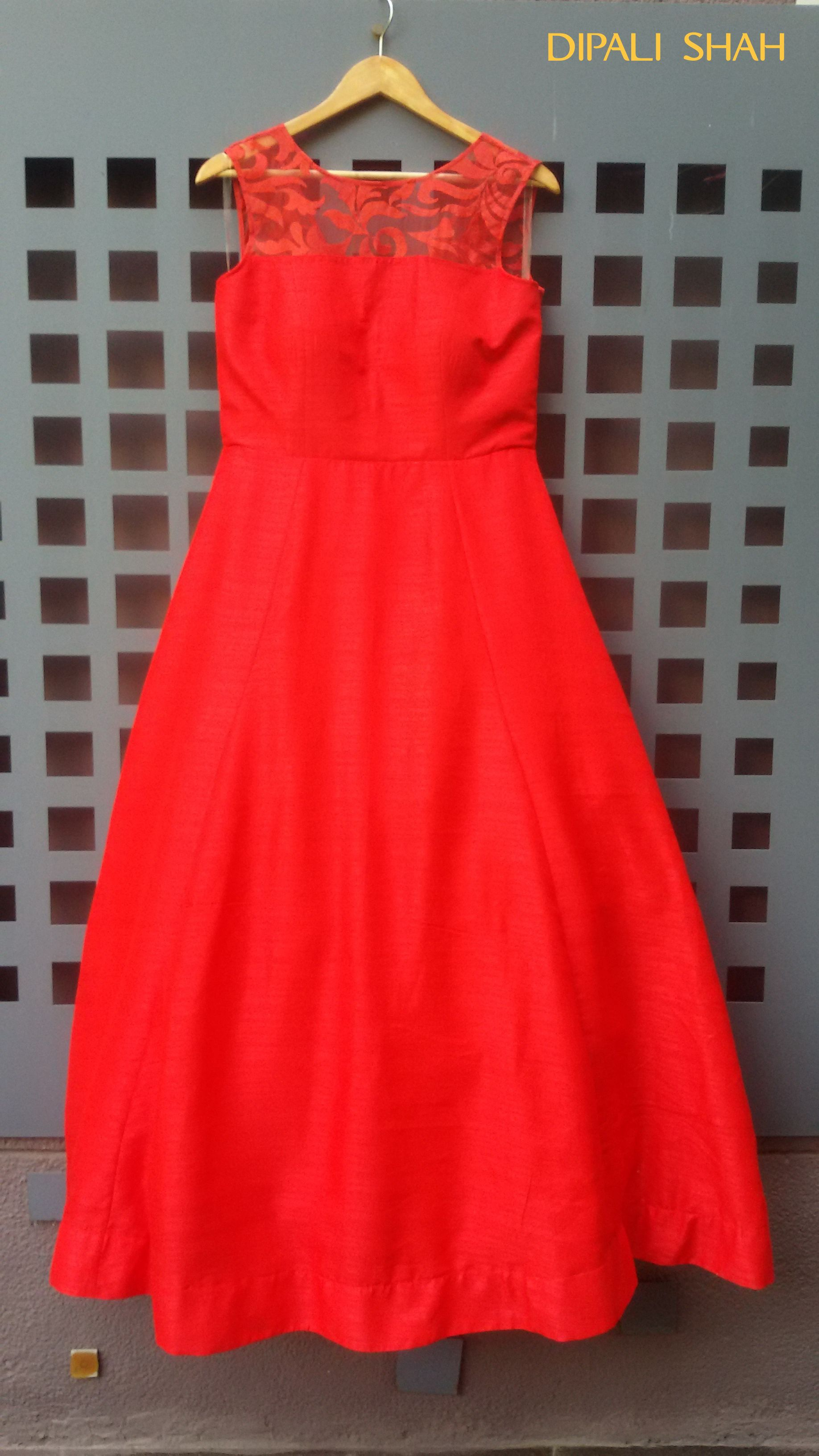 Smart Looking For A Gown Style Indian Wedding DressFashionCocktailParty Wear