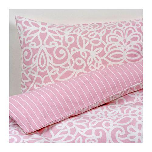 GULLBÅGE Bettwäscheset, 2-teilig IKEA Baumwollflanell ist hautsympathisch und wärmt in kühlen Nächten.