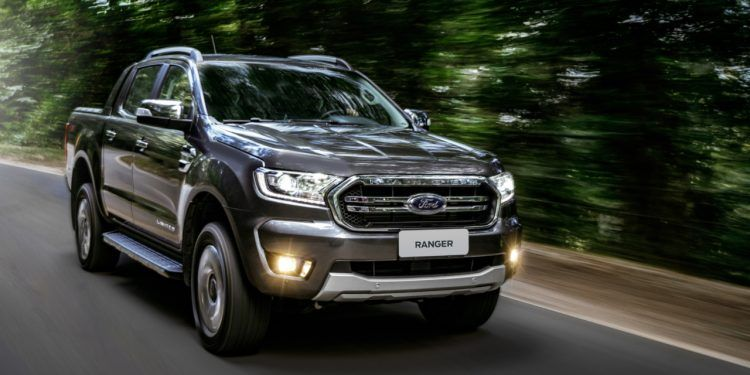 Ford Ranger Limited 2020 Foto Divulgacao Ford Picapes Ford Ranger Vw Amarok